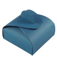 Teal Chocolate Designer Favour Boxes